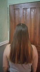 My hair before the braids.